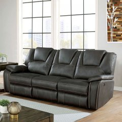 CM6219GY FFION GRAY RECLINING SOFA