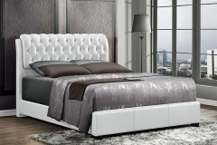 b8119 Queen White Bed