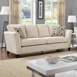 CM6095 Cambell Ivory Sofa