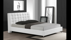 B8283 White Queen Bed