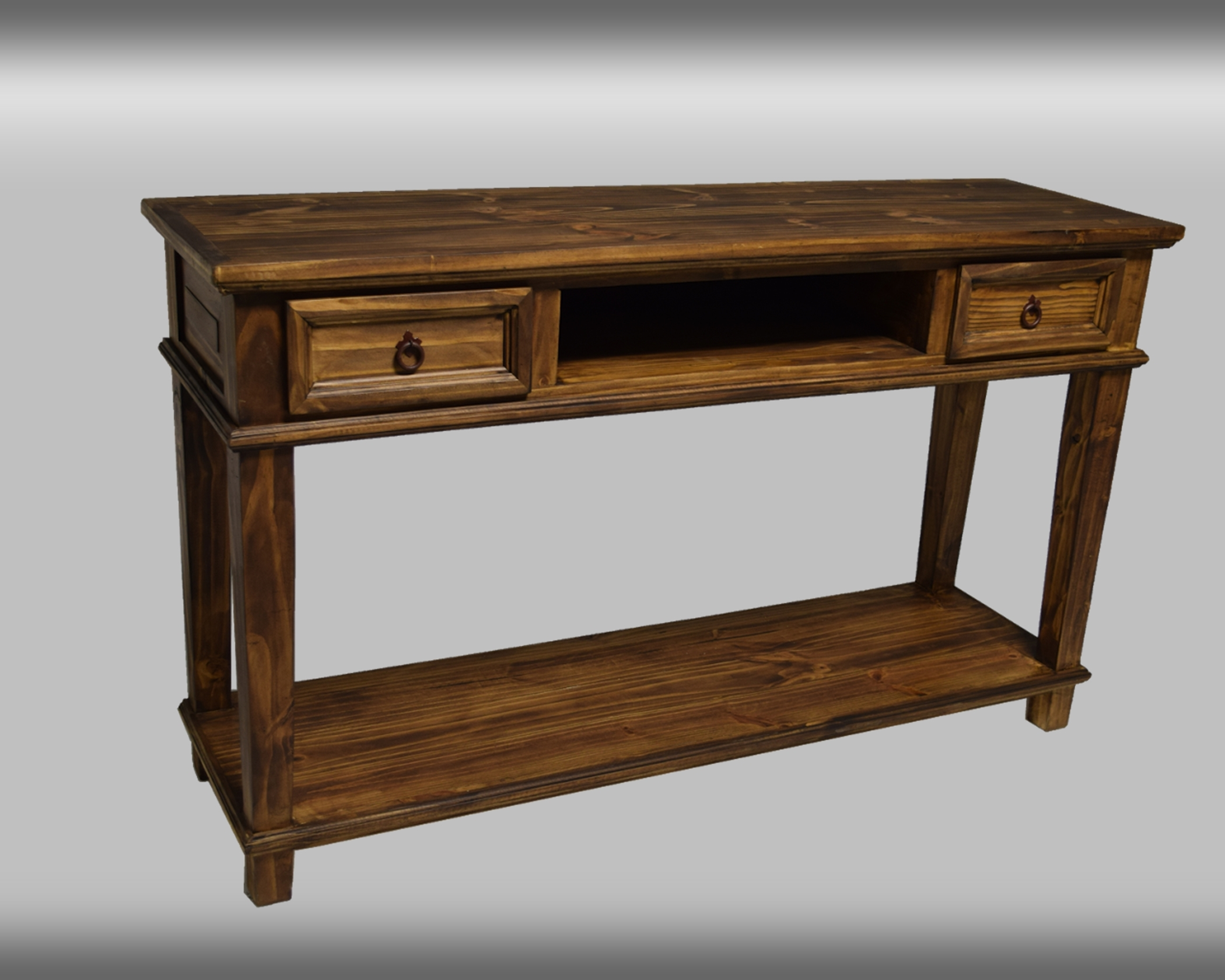 Antique Sofa Table 2 Drawers